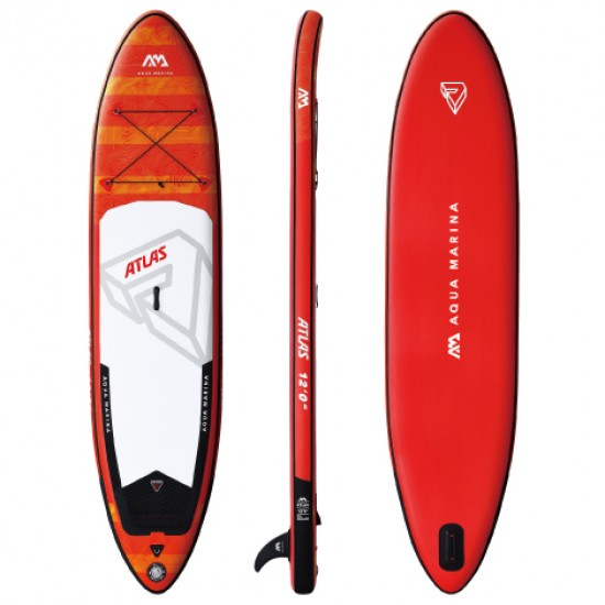 Aqua Marina iSUP - Atlas - Advanced All-Around iSUP, 3.66m/15cm, with paddle and safety leash