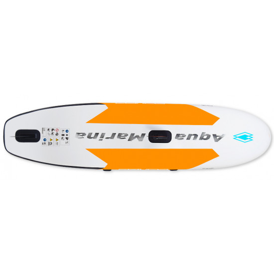 Aqua Marina ISup-Blade - Windsurf iSUP 3.3m/15cm (Sail Rig included), with safety leash