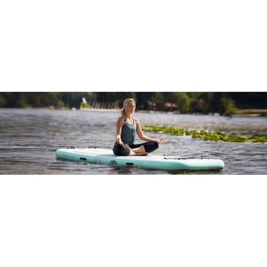 Aqua Marina iSUP - Peace - Yoga iSUP, 3m/15cm, with paddle and safety leash