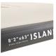 ISLAND - Inflatable Air Platform 2.5*1.6m/15cm Thickness