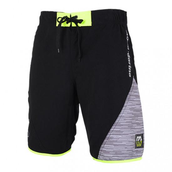 Aqua Marina Men's Board shorts Black + Grey