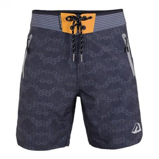 Aqua Marina Men's Printed Board shorts Grey