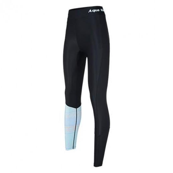 Aqua Marina Women's Rashguard Pant Blue & Black