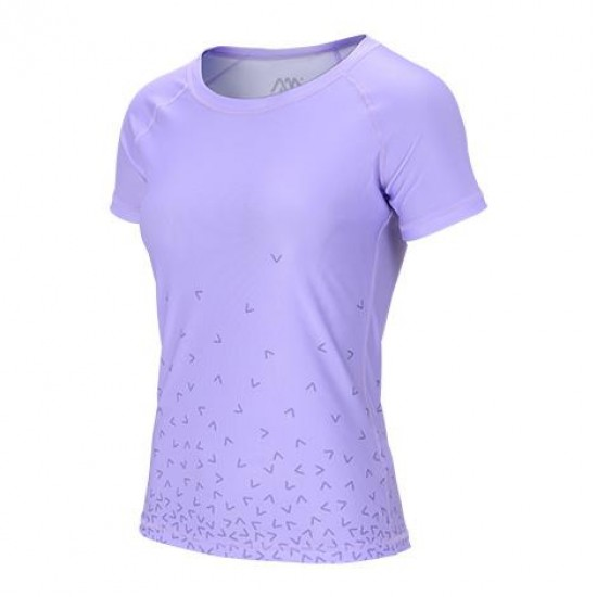Aqua Marina DAZZLED Women's Rashguard Lilac