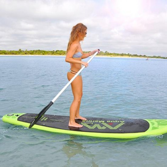 Aqua Marina iSUP - BREEZE Inflatable Stand-up Paddle Board (SPORTS II iSUP paddle included)