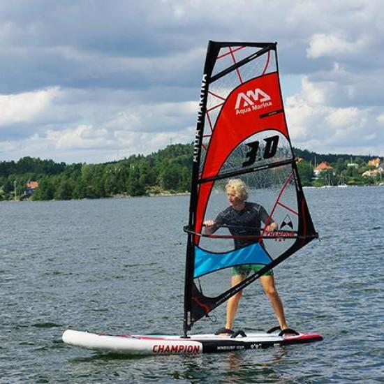 Aqua Marina iSUP - CHAMPION Windsurf Inflatable Stand Up Paddle Board