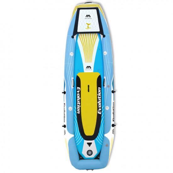 Aqua Marina Evolution 2-person kayak + iSUP set. With 2-in-1 iSUP & Kayak paddle x 2