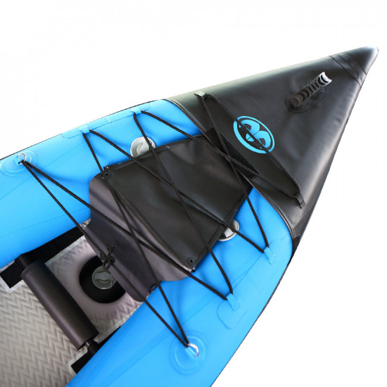 Aqua Marina Kayak - K2 Professional Kayak-1 person-7cm thick, DWF Air Deck Floor (paddle excluded)