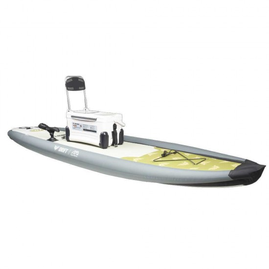 Aqua Marina iSUP - DRIFT Fishing Inflatable Stand Up Paddle Board with cooler